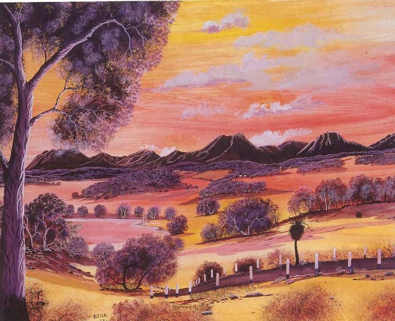 Untitled Sw Landscape By Bella Kelly Art Gallery Wa